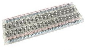 Breadboard transparent 830pins per Arduino