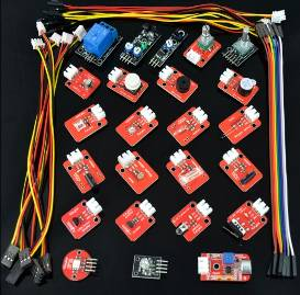 H022 24 Pezzi red board Sensore