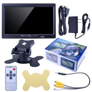7 inch Raspberry Pi Second Generation LCD Monitor 7inch TFT Monitor con unV Cavo and Charger