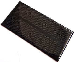 1W Pannello Solare 125*63MM