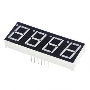 "0.56"" 4bit Common Cathode Red LED Digitale 7-Segment Display"