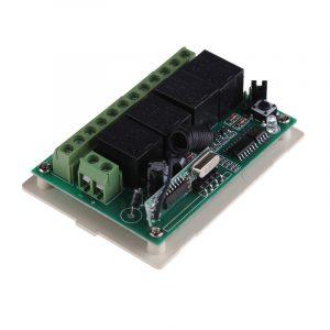 RF Wireless Controllo Remoto universal Controllo Remoto code grabber Radio Pulsante Trasmettitore Ricevitore DC12V 4 CH