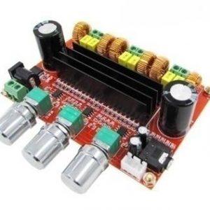 DC12V-24V 2x50W + 100W TPA3116 Circuito amplificatore audio digitale a 2.1 canali TPA3116D2 Amplificatori per altoparlanti subwo